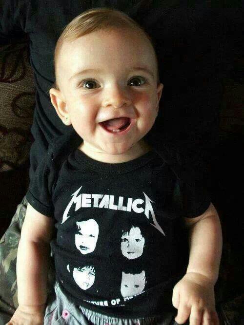 Metallica baby shirt  1c7dc57389e