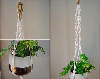 Mora planta macram suspensi n colgante maceta colgantes pinterest macram colgantes y - Colgadores de macetas ...