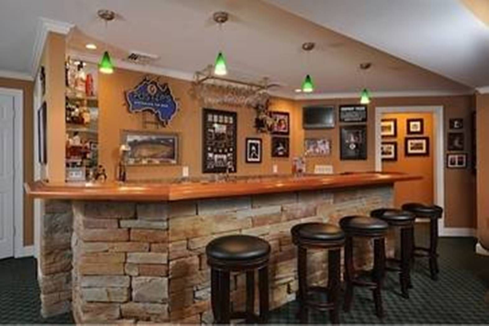 Awesome Bar Decorating Ideas For Home Part - 6: Sports Bar Design Ideas, Pictures, Remodel, And Decor - Page 13