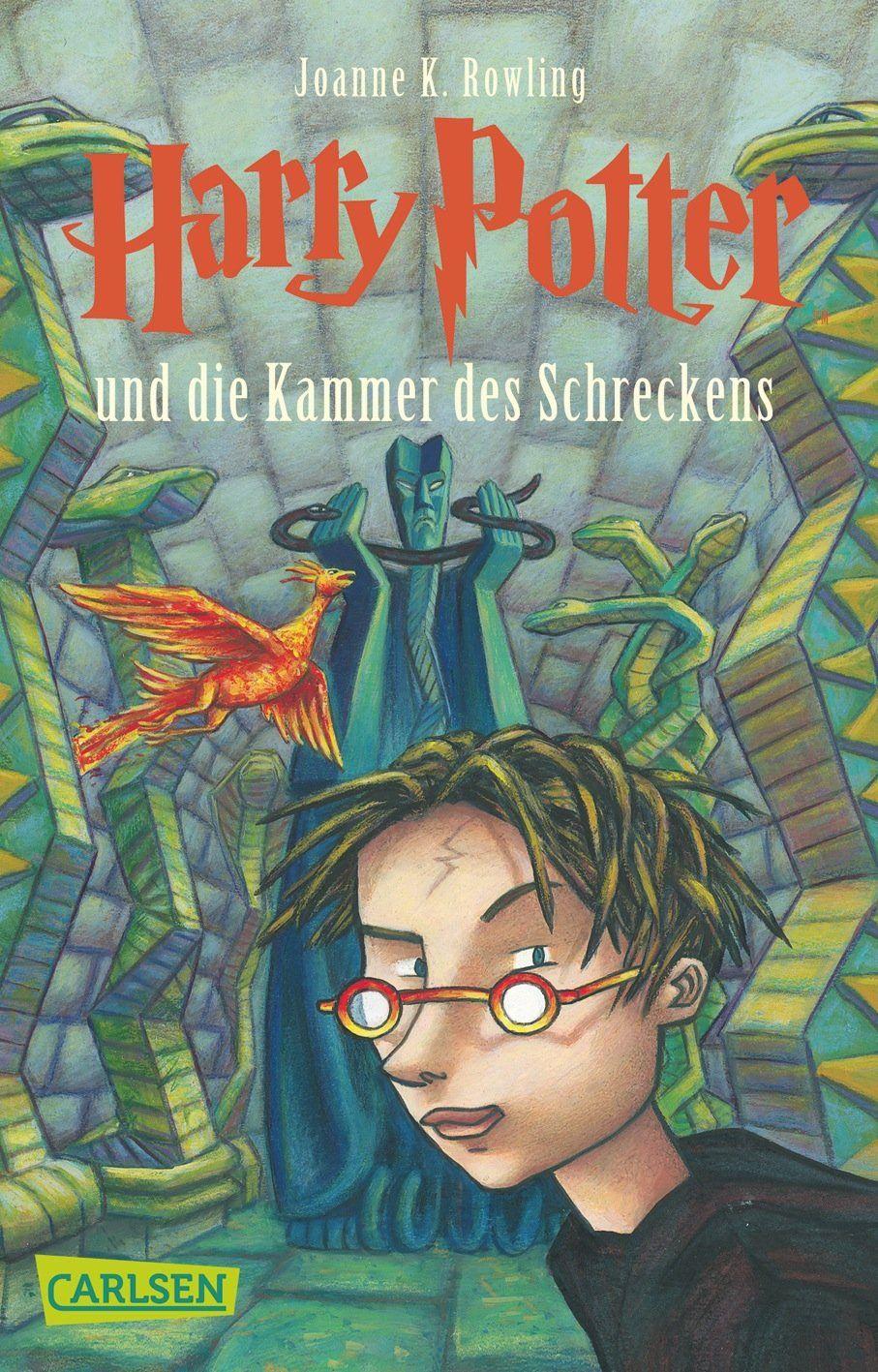Harry Potter Und Die Kammer Des Schreckens German Edition J K Rowling 9783551354020 Amazon Com Books