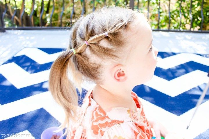 Growing Out Bangs 1 Hairstyle 3 Ways Growing Out Bangs Little Girl Hairstyles Kids Hairstyles
