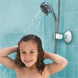 Mommy S Helper Adjustable Shower Arm For Kids Finally Found It Been Searching For This Adjustable Shower Arm Portable Shower Head Shower Arm