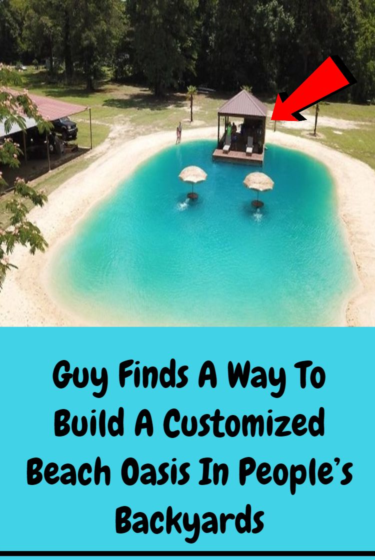 This Guy Came Up With A Plan To Turn Any Backyard Into A ...