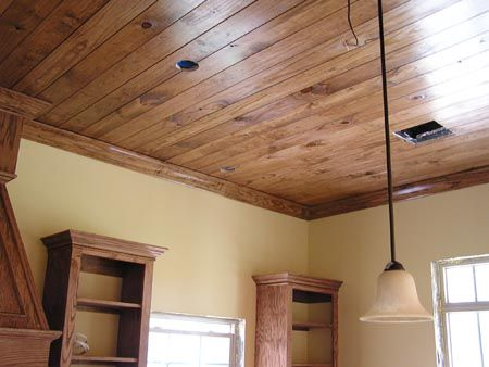 Stained Molding Staining Wood Wood Ceilings New Homes