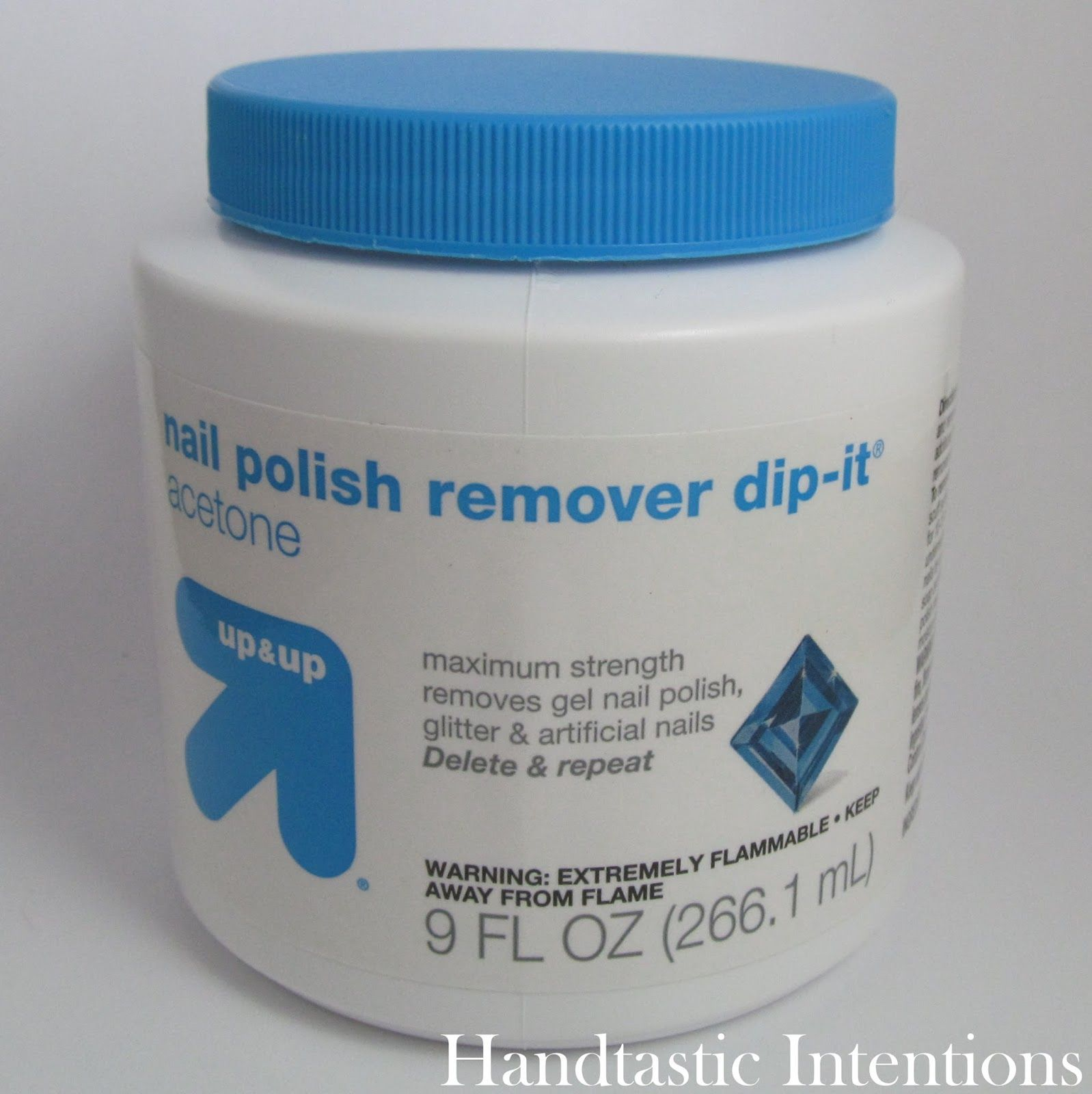 Handtastic Intentions: Nail Care Product Review: Up&Up Nail Polish ...