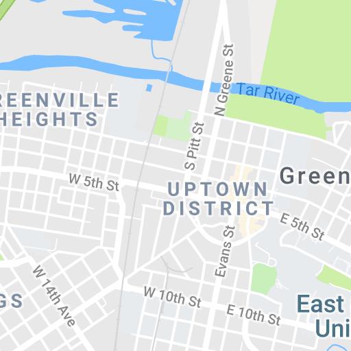 Ecu Campus Map Stuff