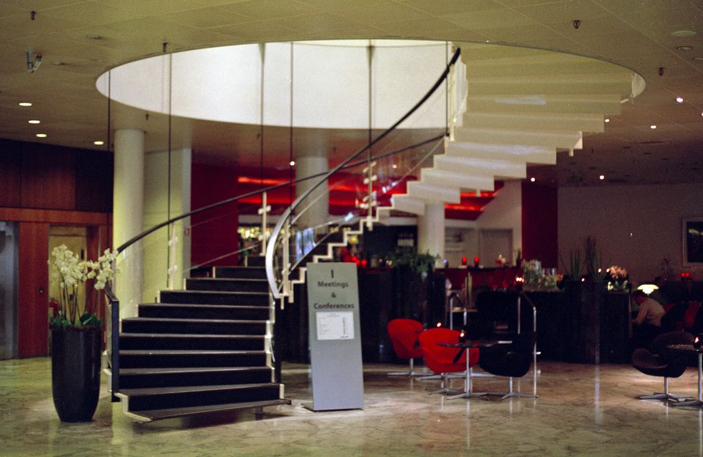 Best This Large Helical Staircase Designed By Arne Jacobsen In 400 x 300