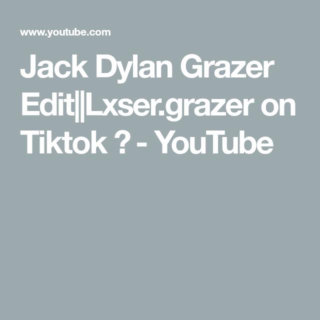 Jack Dylan Grazer Edit Lxser Grazer On Tiktok Youtube Dylan Youtube Jack