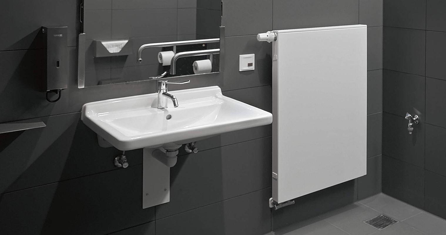 Lavabos para discapacitados y minusvalidos ba os para for Altura lavabo minusvalidos