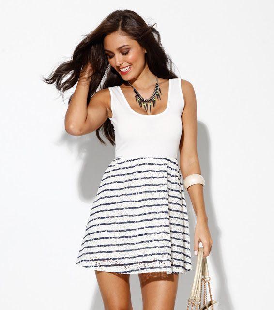 85fa933326 Fantásticos modelos de vestidos cortos casuales