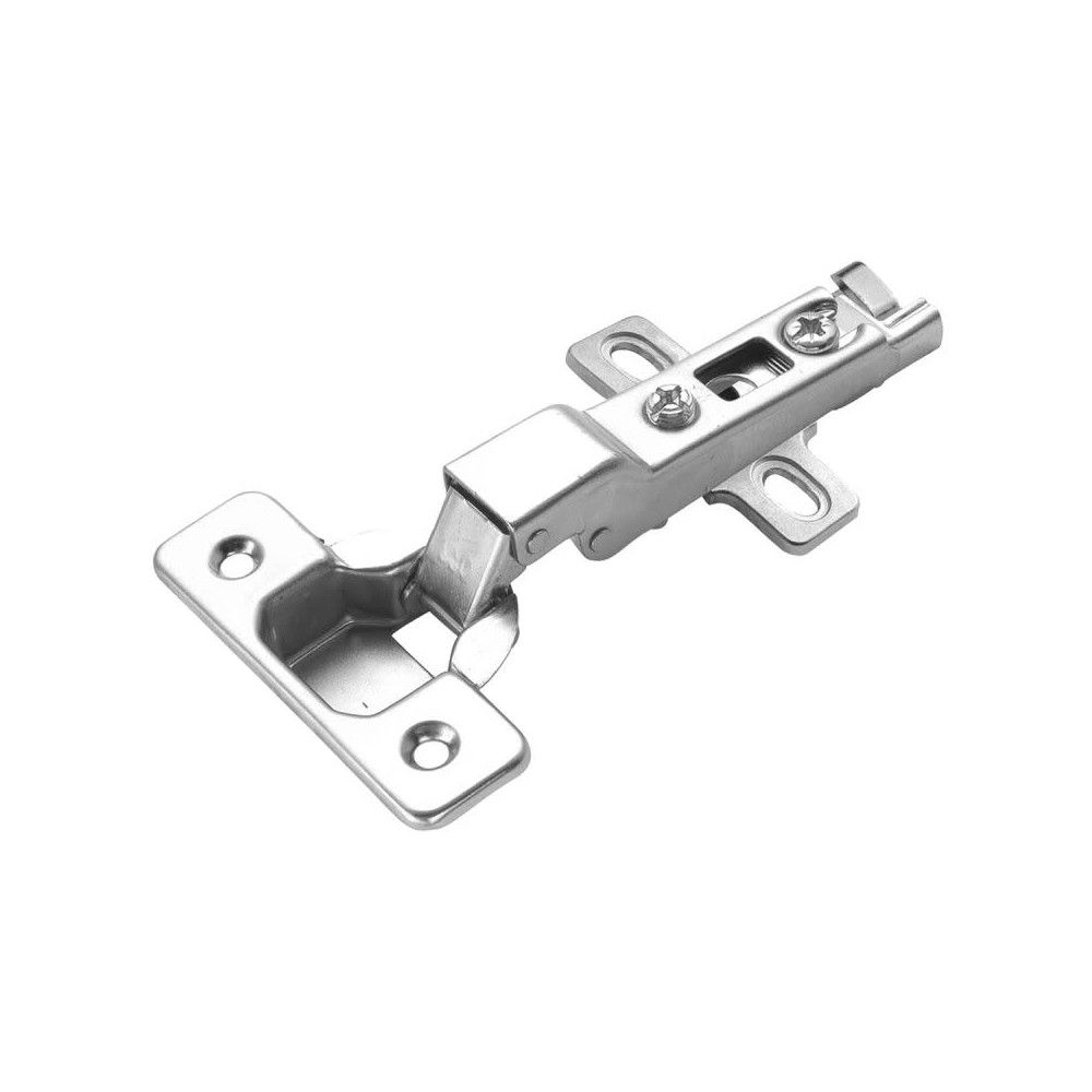 Hickory Hardware P5110 Partial Overlay Screw Bright Nickel No Finish Hickory Hardware Overlay Hinges European Cabinets