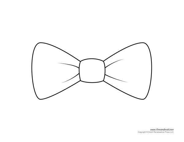 Bow Tie For Me Potato Head Moldes De Corbatas Corbata De Mono Corbatas Dibujo