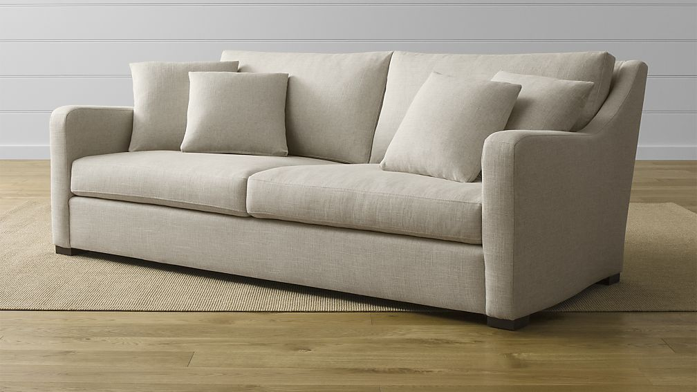 crate and barrel verano sofa small double chair home stuff pinterest room