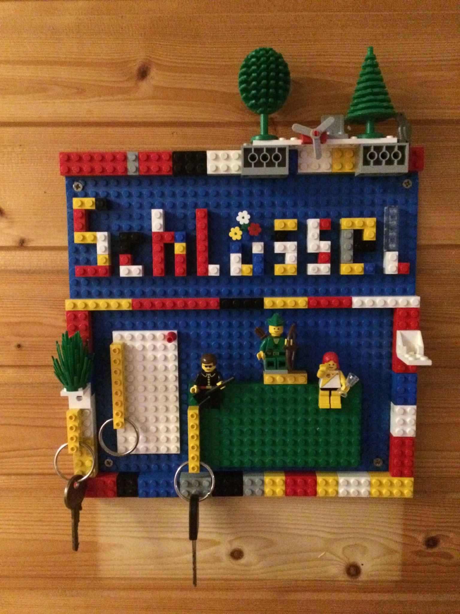 schlüsselbrett aus lego | creative | pinterest | creative