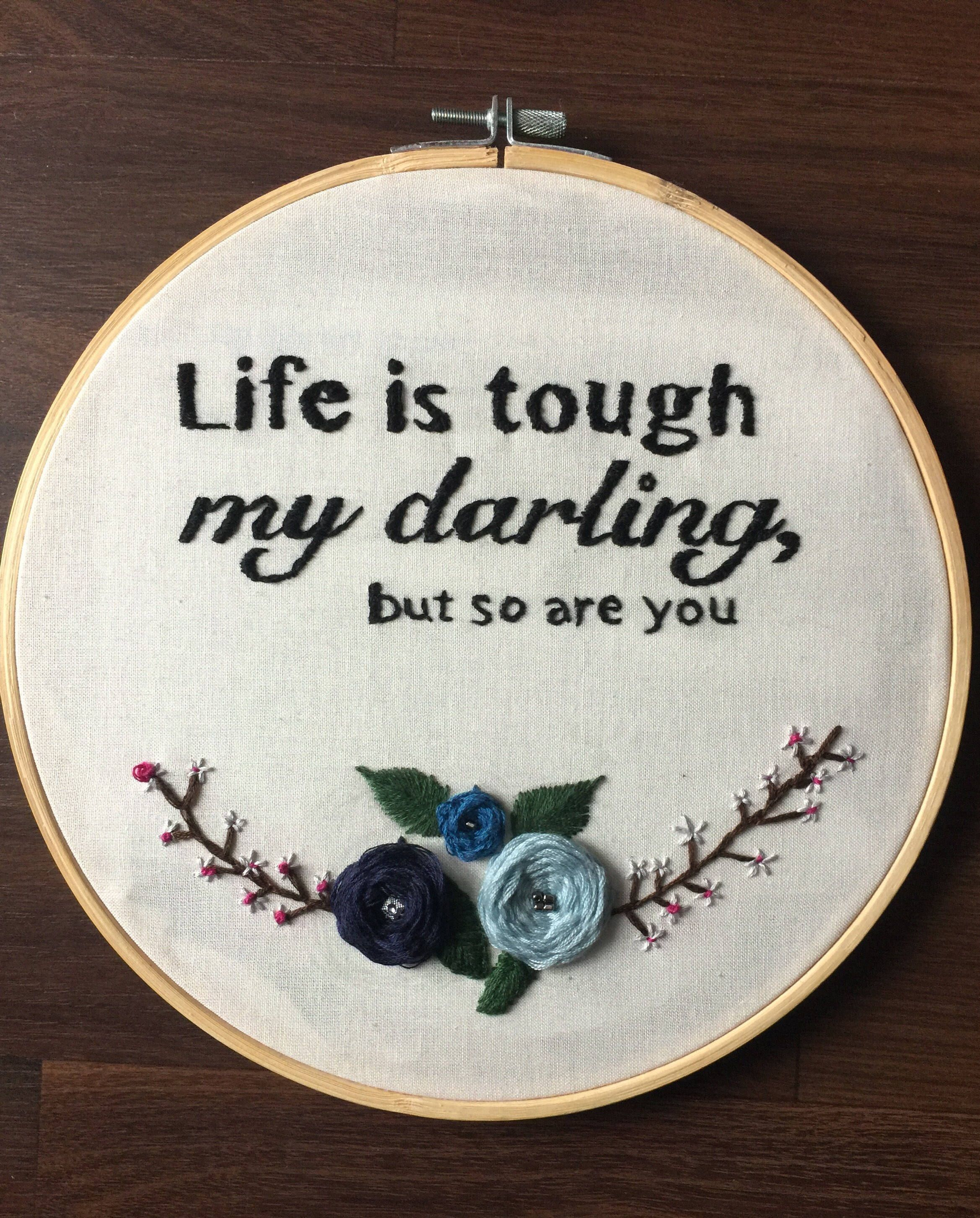 Excited to share the latest addition to my #etsy shop: Life is tough ...