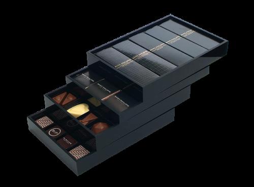 Porta chocolate 4 bandejas