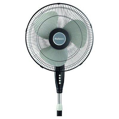 14959399 Holmes 16 Stand Oscillating Fan Black Stand Fan