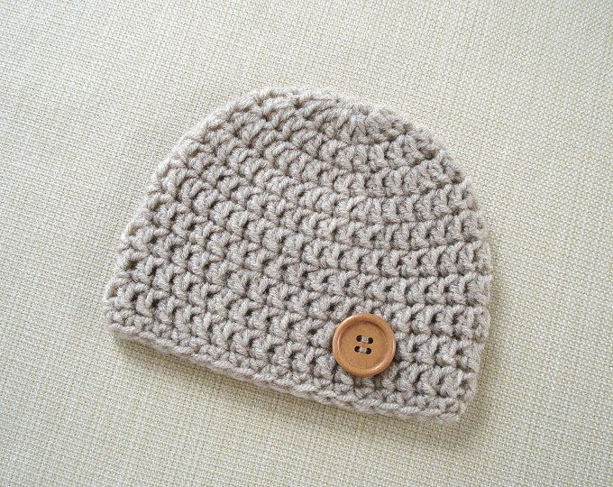 Crochet Baby Hat Newborn Boy Hat Crochet Newborn Hat Boy Newborn