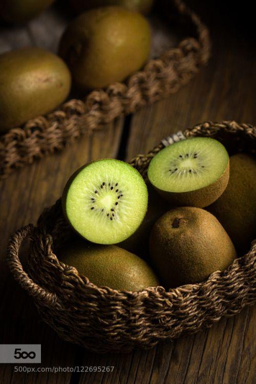 kiwifruit by fotolee  IFTTT 500px food fresh fruit green healthy kiwi fruit natural yellow Actinidia sinensis yangtao
