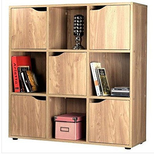 Wooden Storage Cube System Bookcase Unit Cabinet Display Shelf Bedding  Bedroom Table Sets