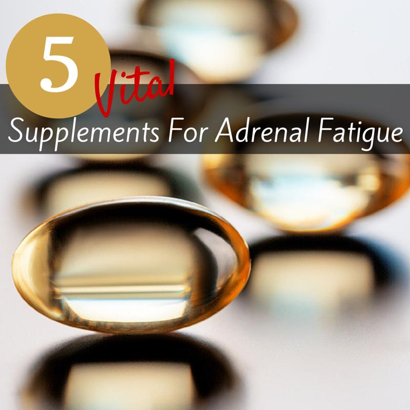 5 suplementos para la fatiga adrenal