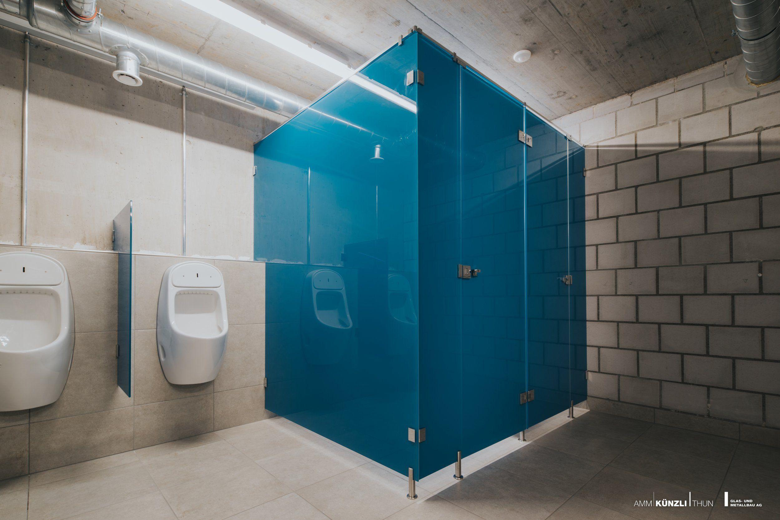 WC Kabine aus Glas   Sanitär, Wc trennwände, Trennwand