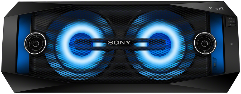 Sony High Power Home Audio System With Bluetooth Wireless Speaker System Bluetooth Sound System Wireless Speakers