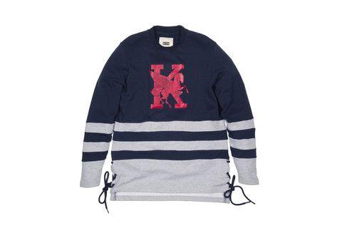 KITH Academy Norwalk Jersey - Navy / Grey / Red | Kith NYC