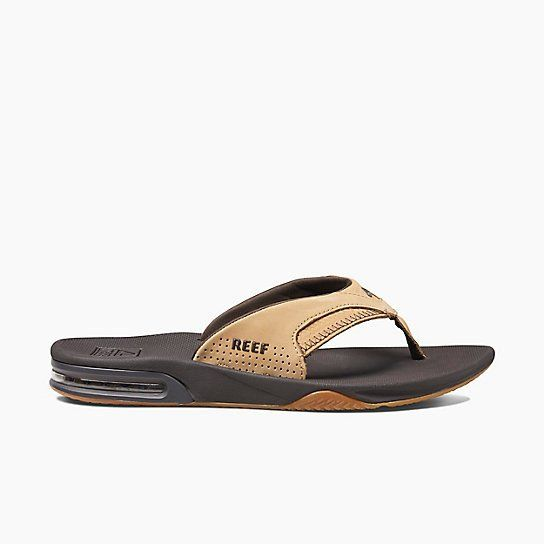 a34207e531f8 Reef Fanning Sandal - Leather Tan Woven