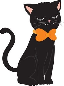 Cute Halloween Clip Art Black Cat Clip Art Images Black Cat Stock