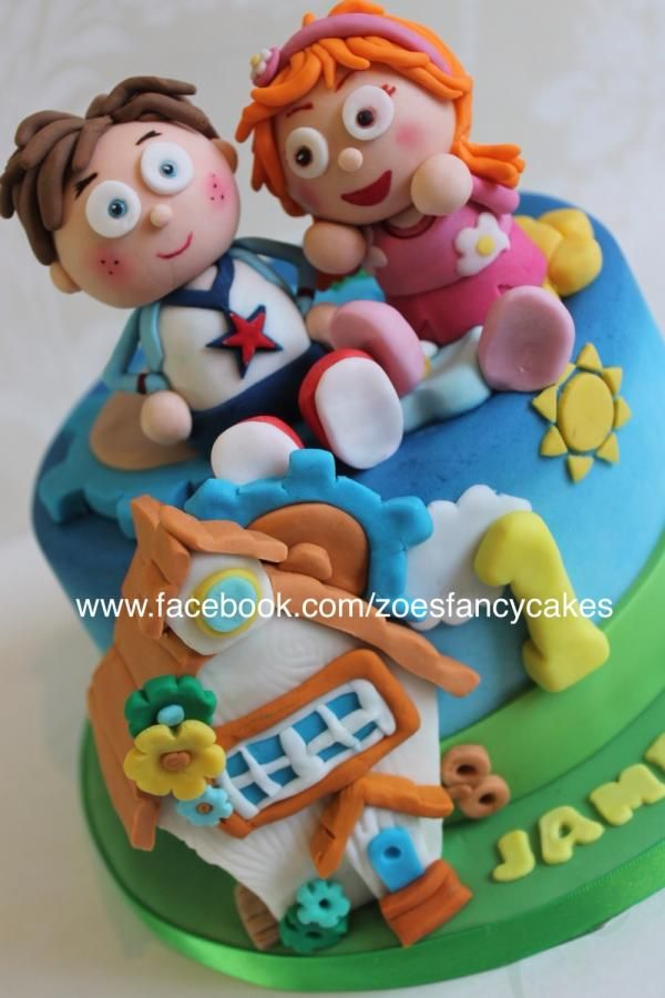 Tickety Toc Childrens Cake Cake By Zoes Fancy Cakes More At