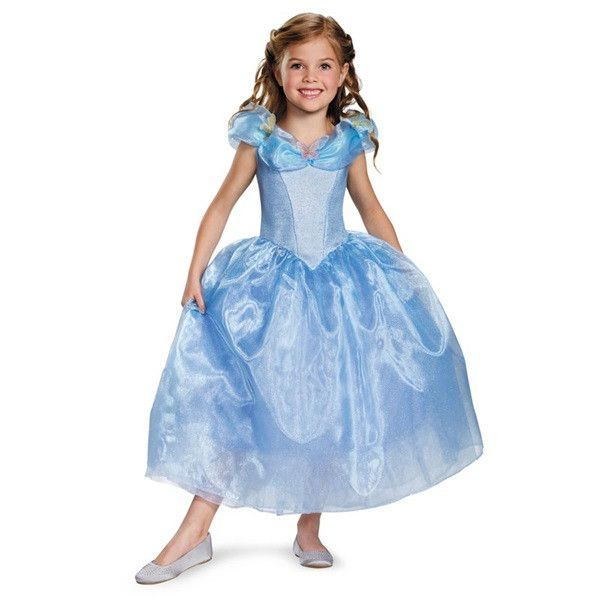 Cinderella Deluxe Toddler Costume Toddler costumes, Costumes and - toddler girl halloween costume ideas