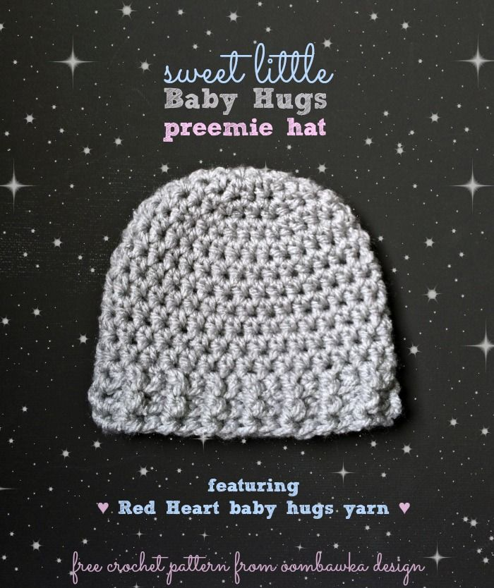 Sweet Little Baby Hugs Hats A Free Crochet Pattern For All Your