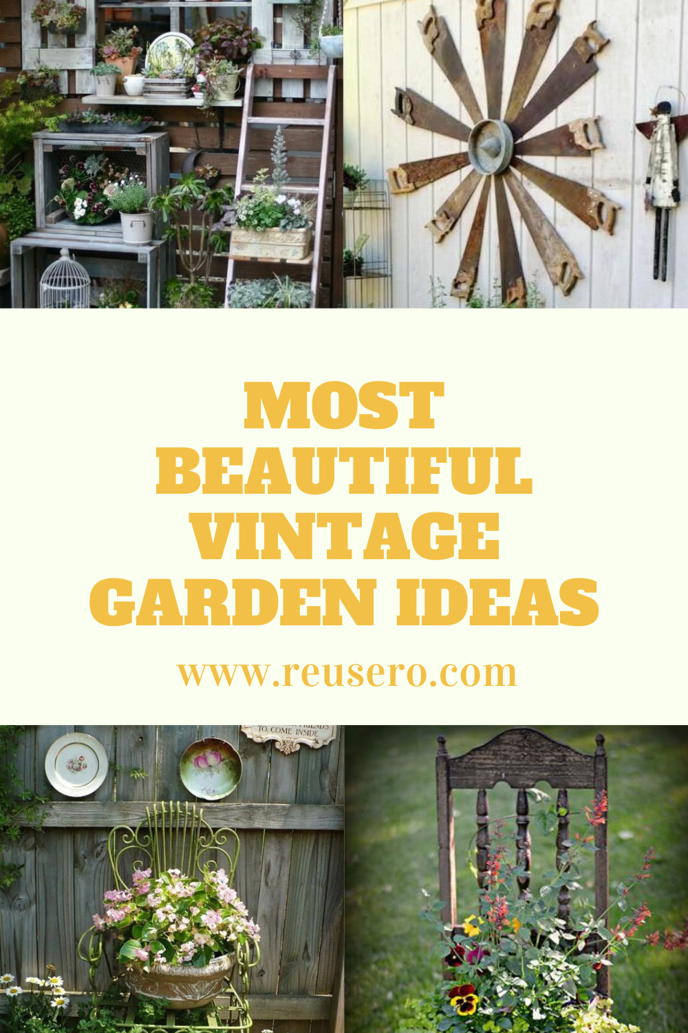 Upcycle Projects And Ideas For Garden Diy Upcycled Household Items And Junk Into Furniture Decor Vintage Garden Diy Garden Garden