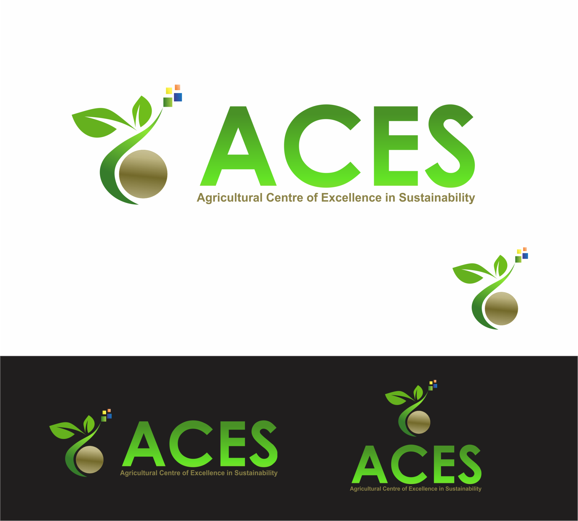 Create the next logo for ACES (Agricultural Centre of Excellence in  Sustainability) Logo design  68 by HAZET  3b88eccc57a59