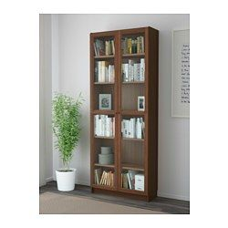 Bücherregal ikea braun  BILLY / OXBERG Bücherregal, braun Eschenfurnier | Ikea billy ...