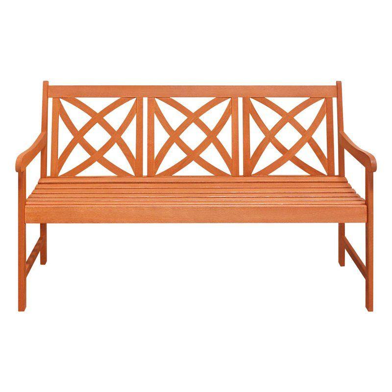 Ava Eucalyptus Bench Wood Bench Outdoor Garden Benches For Sale Garden In The Woods