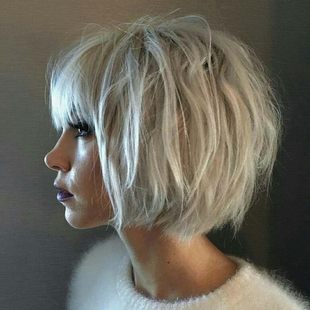 Pin by Nina Oppedal on  SHORT haircuts   Pinterest  Hair style