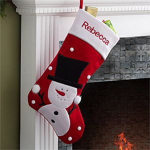 4abb3dfe5e4 Make your home more festive this Christmas with the Personalized Jumbo  Christmas Stockings - Snowman. Find the best personalized Christmas gifts  at ...
