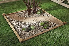 cool zen garden designs | Now here's a cool idea... design a zen corner in your ...