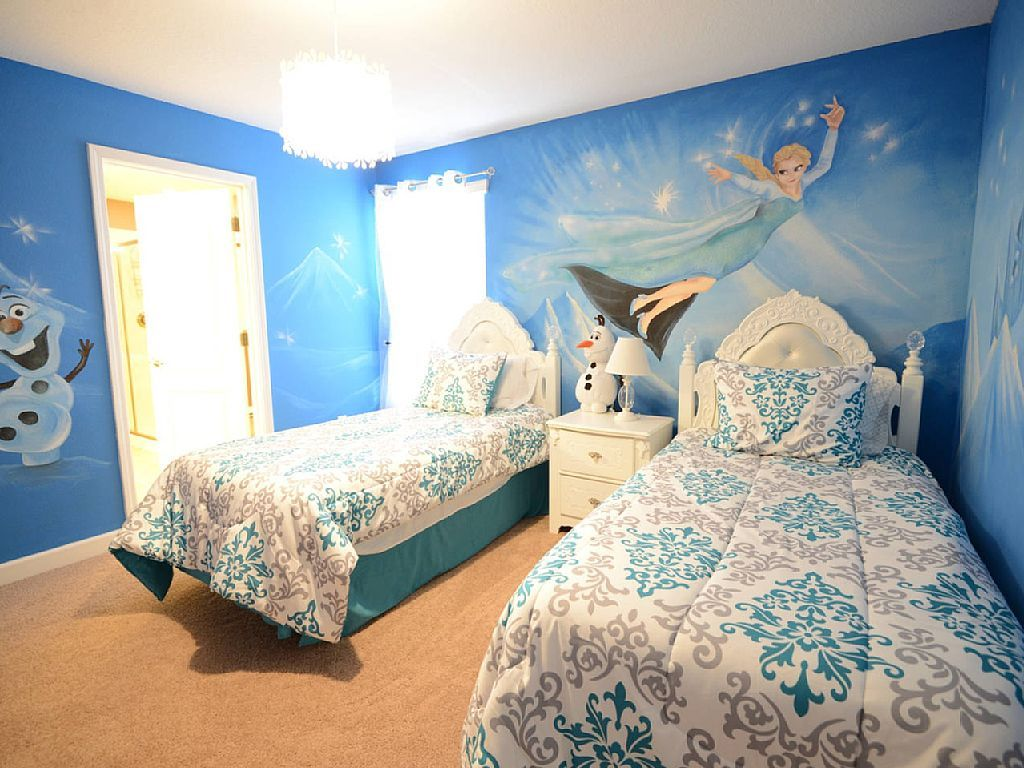 Bath Magical House With Frozen Themed Bedroom 6 King