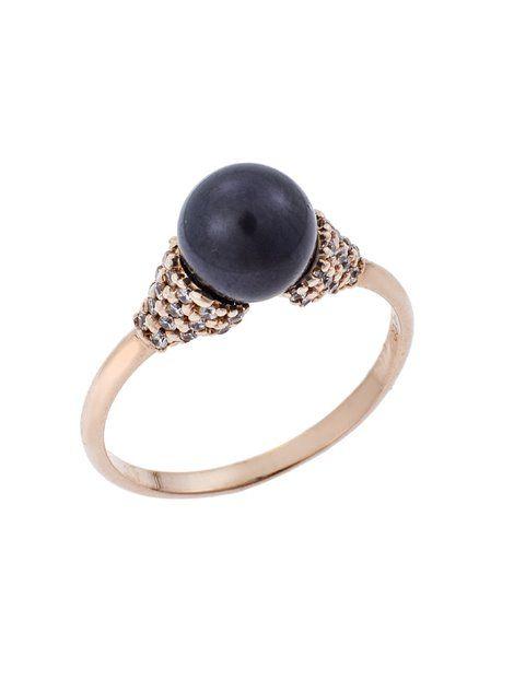 Δαχτυλίδι με Μαργαριτάρι Χρυσό 14Κ σε Ροζ Χρώμα Αναφορά 019635 Ένα υπέροχο δαχτυλίδι  κόσμημα κατασκευασμένο από 013ea91d7e5
