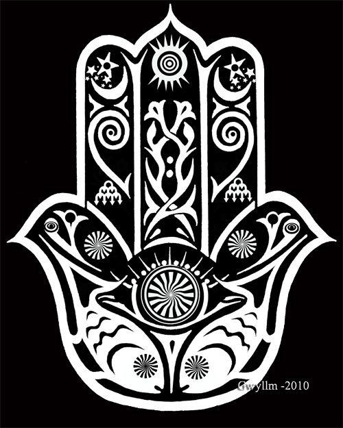 Tattoo idea!!! Two fish represents Pisces- hand of fatima- love ...