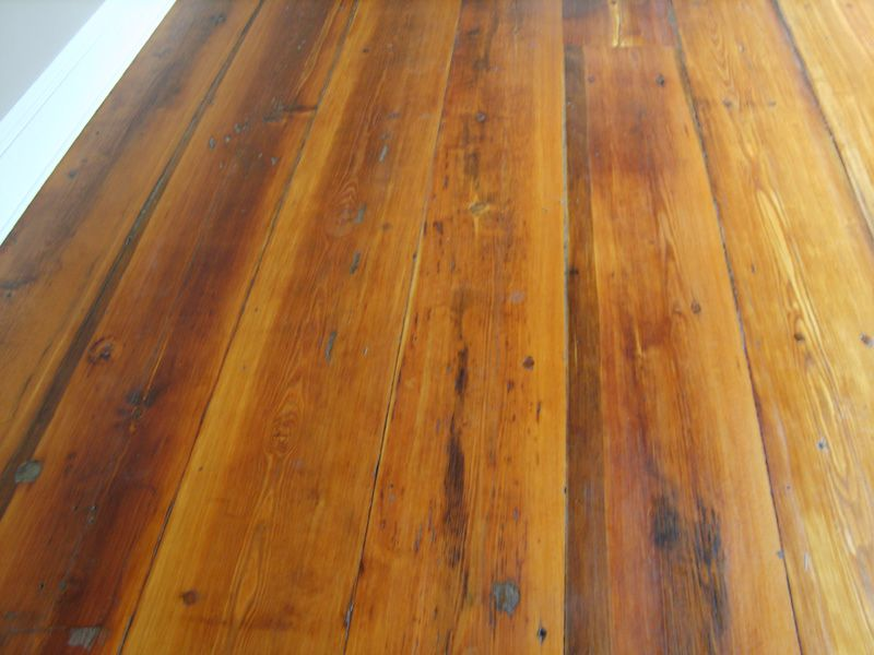 We Have These Type Of Pine Floors Hidden Under Carpeting