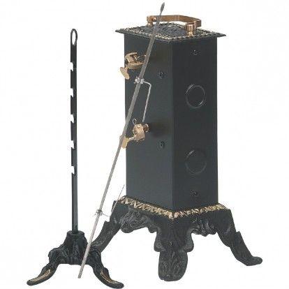 Tournebroche électrique 8 kg - l x h x p - 21 x 34,5 x 16 cm
