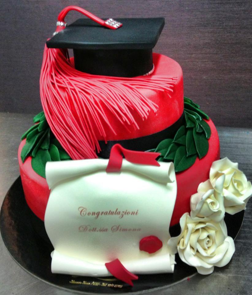Torte artigianali per laurea torte decorate for Decorazioni per torte di laurea