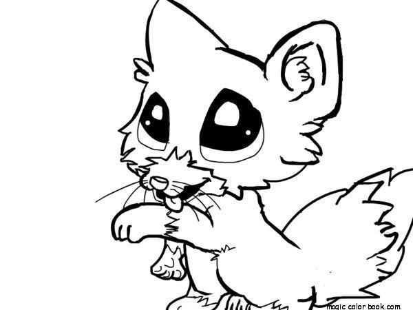 Cute Little Animal Coloring Pages Fox Coloring Page Animal Drawings Zoo Animal Coloring Pages