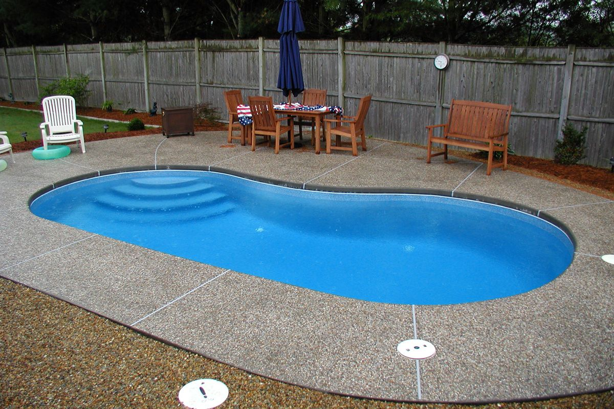 Inground Spa Pools In Ohio Inground Pool Installation And Service Serving Greater Clev Fiberglass Pool Prices Small Inground Pool Small Fiberglass Pools