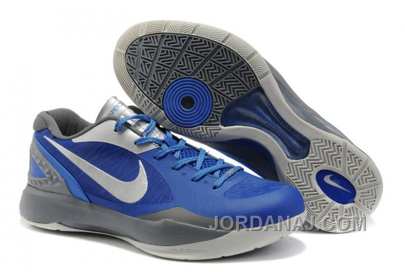 Nike Zoom Hyperfuse 2011 Griffin Low Rlue White Gray NZH0668