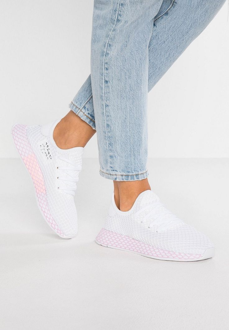 Adidas Originals DEERUPT Baskets Bass Schuhe weiß / klar ...